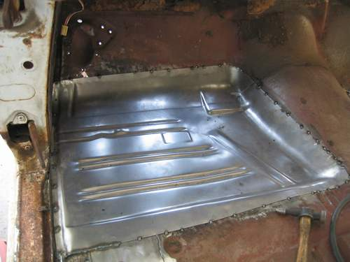 Front Floor Pan Patched