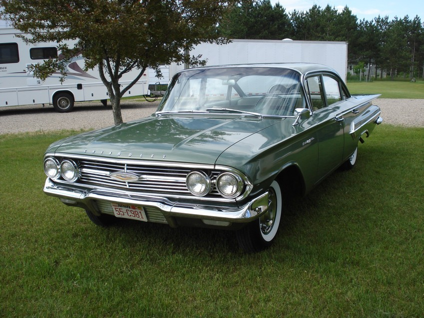 1960 bel air 4 door sedan green 39kmiles 01 15k sold rh 60impala com Chevy Wiring Schematics Chevy Truck Wiring Schematics