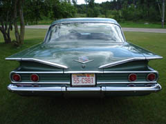 1960 Bel Air 4 door Sedan green 39kmiles 06.jpg & 1960 Chevrolet Bel Air 4-door Sedan - 39k Original Miles