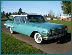 1960 Chevrolet Nomad Wagon