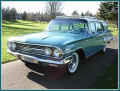 1960 Chevrolet Nomad 4 Door Station Wagon