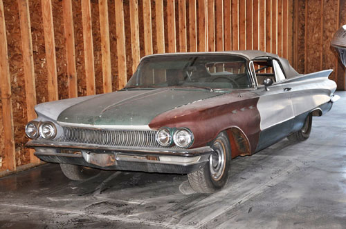 1960 Buick Invicta Convertible. As Found