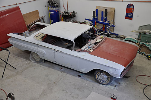 1960 Impala project - 3 years later